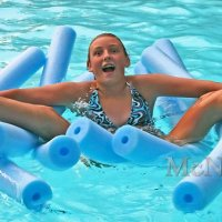 Funny Candid in Pool