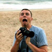 Funny Photographer Portrait