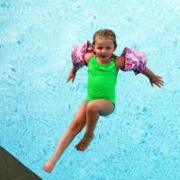 Fun Candid at the Pool