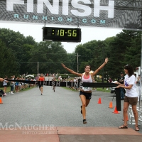 Female Winner of the 5K Run