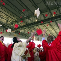 Throwing Graduation Caps in the Air