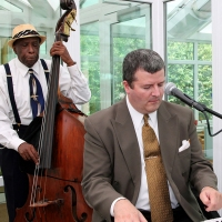 Mardi Gras Musical Trio at Crystal Conservatories